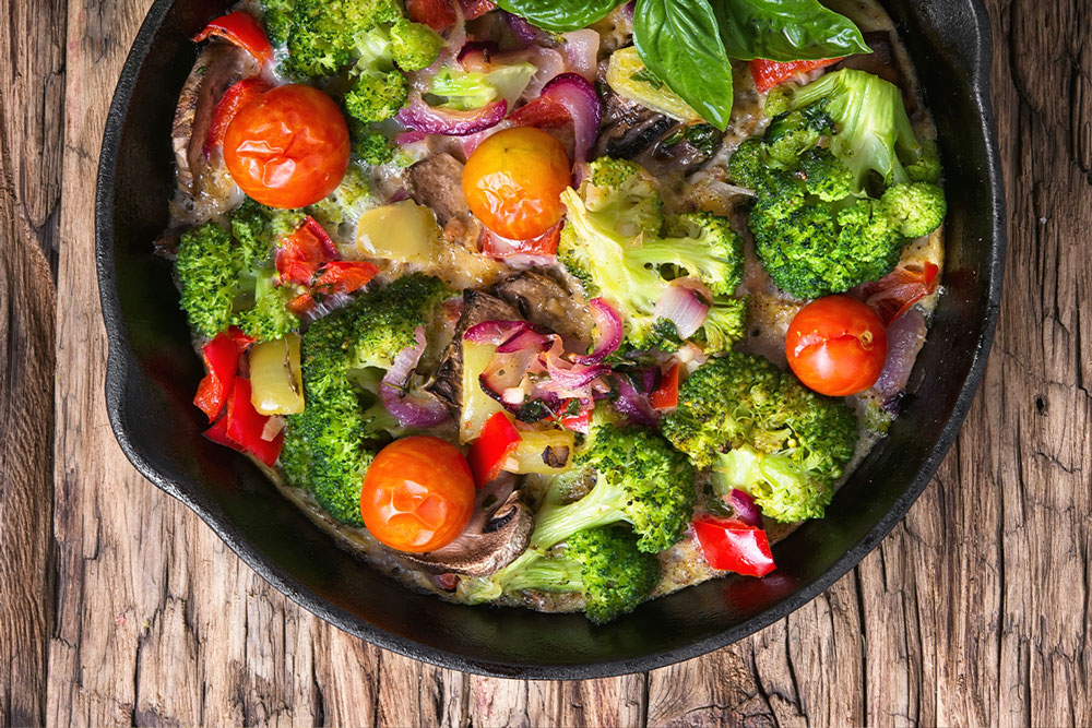 10 recetas vegetarianas fáciles y suculentas